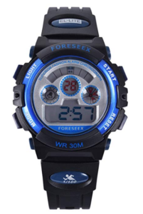 Water Resistant Digital Sports designed for kids