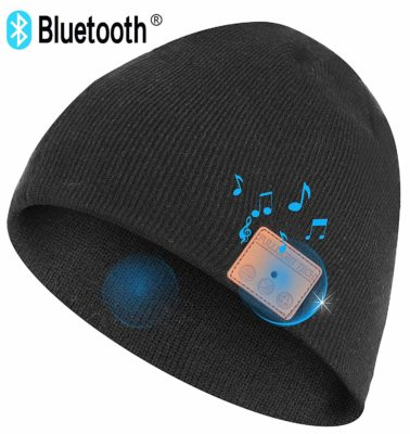 Bluetooth Beanie Hat Headphones Wireless Headset Winter Music Speaker Hat