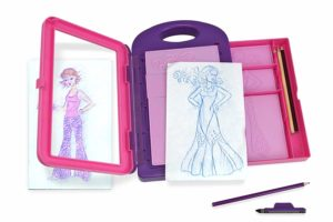 Fashion art kit design for kids