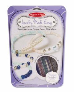 Jewelry craft bracelet making set for girls