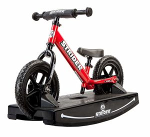 strider bike with rocking base