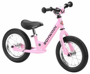 pink schwinn balance bike
