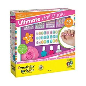 this is an image of the ultimate nail studio kit