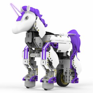 this is an image of a unicorn robot
