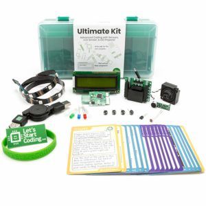 this is an image of the ultimate coding kit for kids