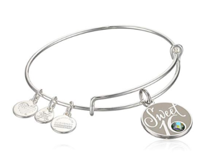This is an image of a sweet sixteen bangle.