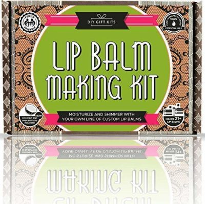 This is an image of a lip balm making set for teens.