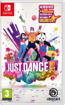 This is an image of a Just Dance 2019 game.
