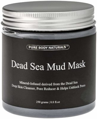This is an image of a pure body naturals face mask.
