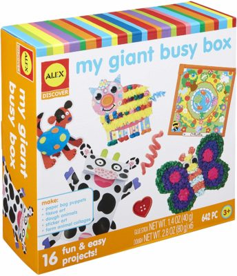 This is an image of a craft kit for toddlers by ALEX Discover.