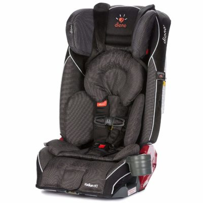 This is an image of a Radian RXT Shadow car seat by Diono.