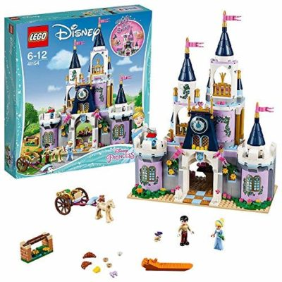 This is an image of a Princess Cinderella's castle building kit by LEGO.