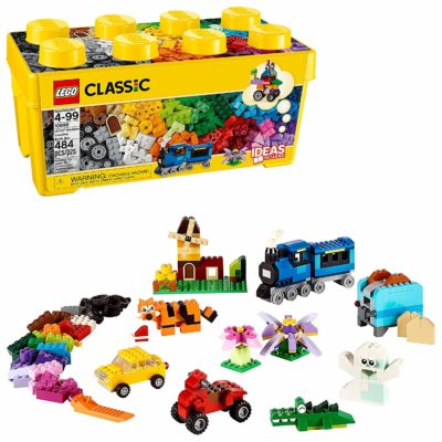 This is an image of a Classic Brick Box building kit by LEGO.
