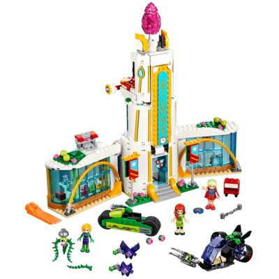 This is an image of a Super Hero Girls High school building set by LEGO.