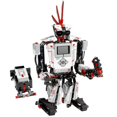 This is an image of a Mindstorms EV3 kit by LEGO.