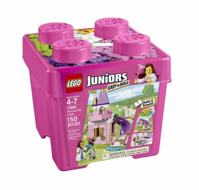 This is an image of a Juniors princess castle building set by LEGO.