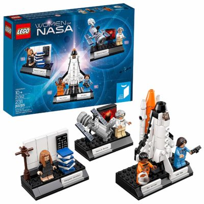 This is an image of a Ideas Woman of NASA building set by LEGO.