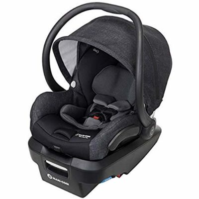 This is an image of a Nomad Black Mico Max car seat by Maxi-Cosi.