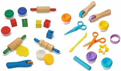 This is an image of a clay and play creative bundle for toddlers by Melissa and Doug.