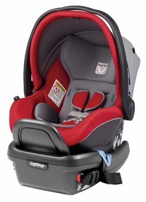 This is an image of a Tulip Primo Viaggio car seat by Peg Perego.