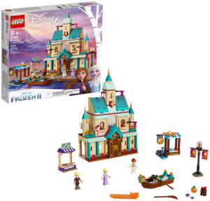 this is an image of lego Frozen II arendelle castle