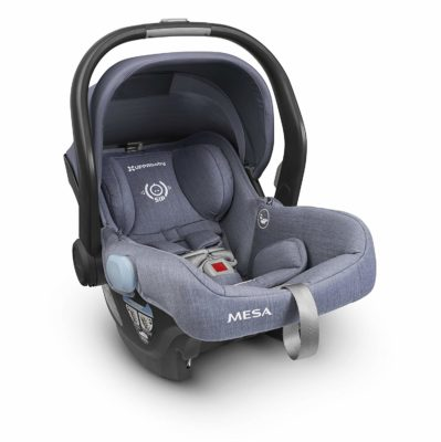 This is an image of grey MESA Henry car seat by UPPAbaby.