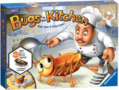 This is an image of a Bugs in the Kitchen board game by Ravensburger.