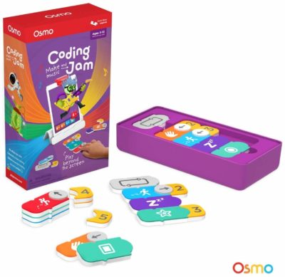 This is an image of a coding and problem solving board game called Coding Jam by Osmo.