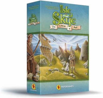 This is an image of a Isle of Skye strategy board game.