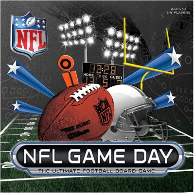 This is an image of a NFL football board game.