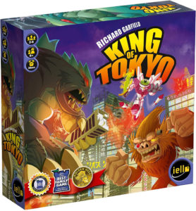 this is an image of the king of tokyo board game
