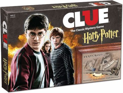 This is an image of a classic Harry Potter game for kids ages 12 years old.