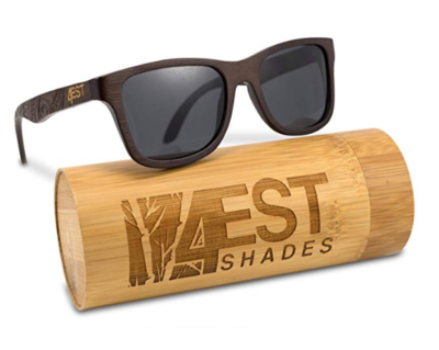 This is an image of a handcrafted bamboo sunglasses buy 4EST Shades.