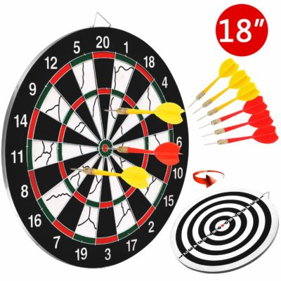 This is an image of a dart board for teens.