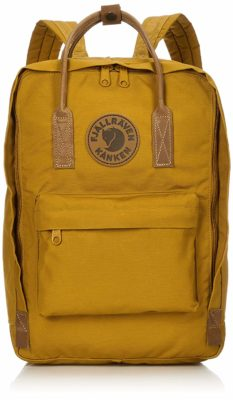 This is an image of a acorn back pack by Fjallraven.