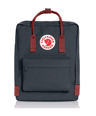 This is an image of a Black-ox Red Kraken backpack by Fjallraven.