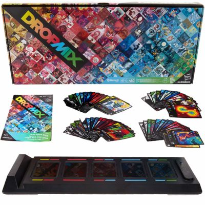This is an image of a DropMix gaming system by Hasbro Gaming.