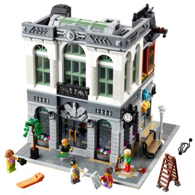 This is an image of a Brick Bank construction kit by LEGO.