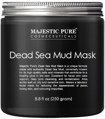 This is an image of a Facial Cleansing Clay by Majestic Pure.
