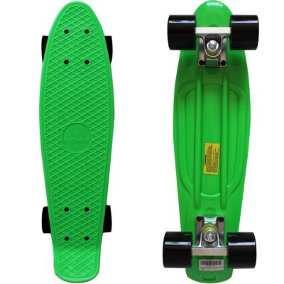 This is an image of a 22 inches green skateboard.