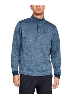 This is an image of a black Armour fleece by Under Armour.
