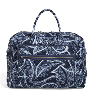 This is an image of an Idio travel bag for women.
