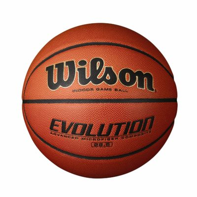 This is an image of an evolution game ball by Wilson.
