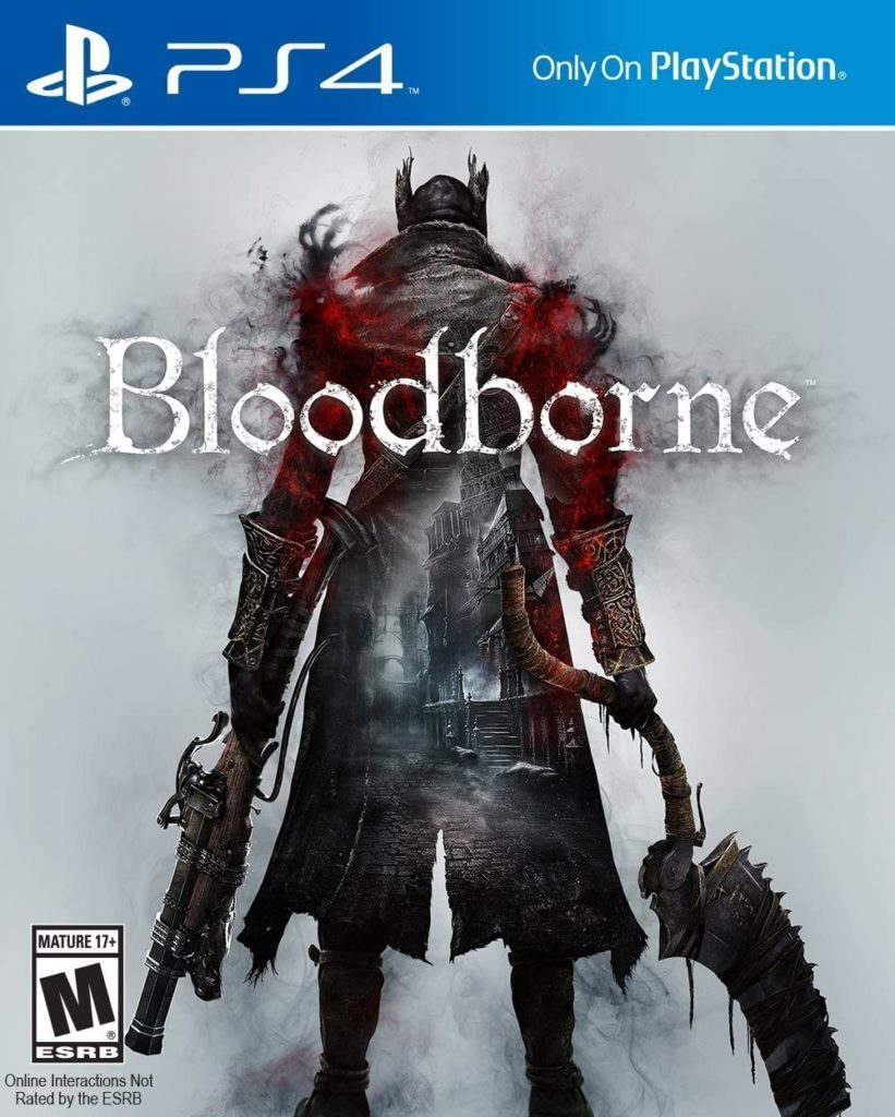 This is an image of a Bloodborne Playstation 4 game.