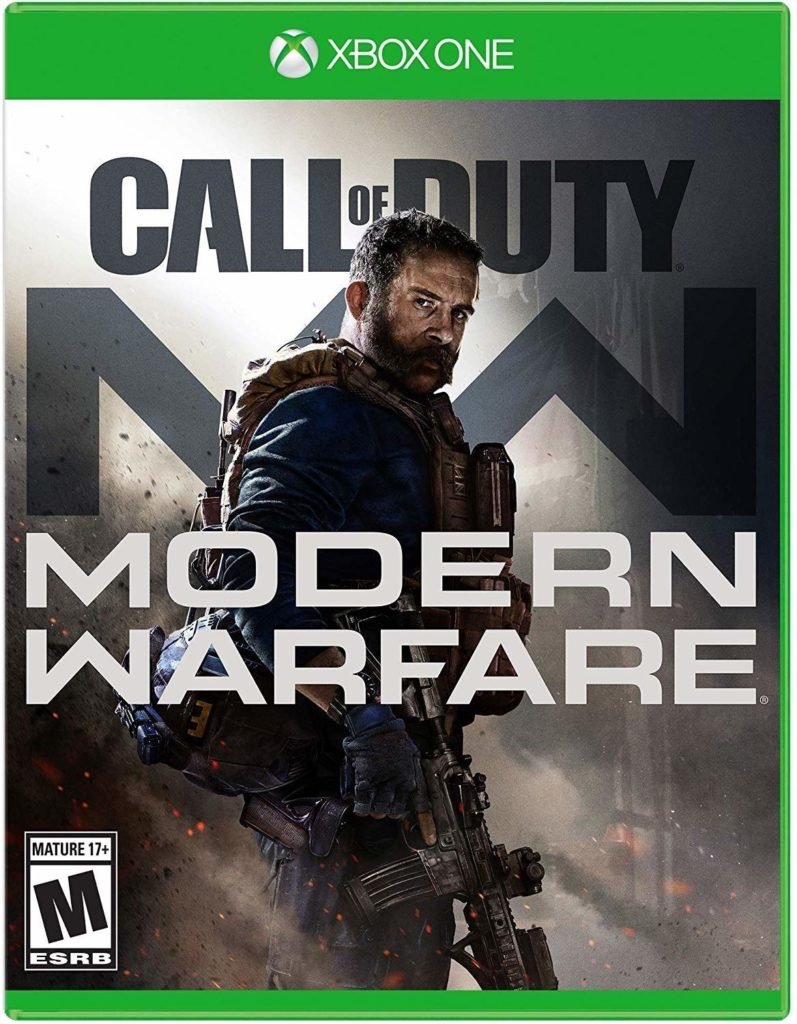 This is an image of a Call of Duty Xbox One game in Modern Warfare edition.