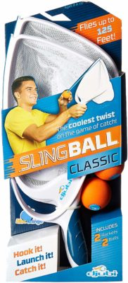 This is an image of a classic slingball game.