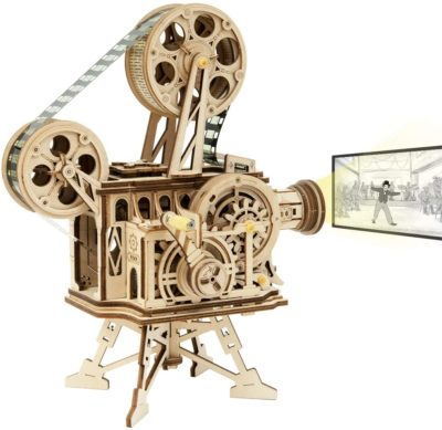 This is an image of a 3D vitascope wooden puzzle.