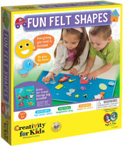this is an image of a fun felt art kit