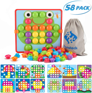 this is an image of a button art kit