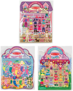 this is an image of melissa & doug puffy stickers